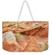 Colorful Wash 3 In Valley Of Fire Weekender Tote Bag