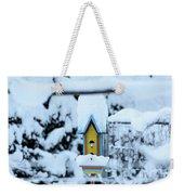 Colors In The Snow Weekender Tote Bag