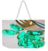 Colourful Medication Weekender Tote Bag