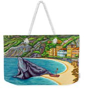 Colours Of Monterosso Weekender Tote Bag