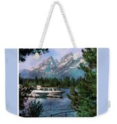 Colter Bay In The Tetons Weekender Tote Bag