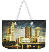 Columbus Ohio Weekender Tote Bag