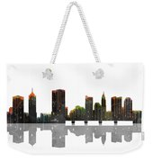 Columbus Ohio Skyline Weekender Tote Bag