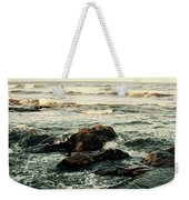 Breaking The Waves Weekender Tote Bag