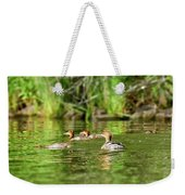 Common Merganser Weekender Tote Bag