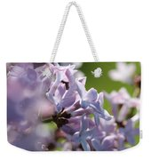 Common Purple Lilac Weekender Tote Bag