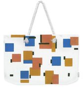 Composition With Colours Weekender Tote Bag