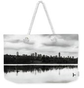 Contemplating Contrasts Weekender Tote Bag