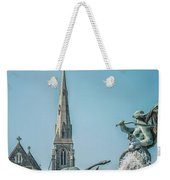 Copenhagen Gefion Fountain Weekender Tote Bag