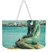 Copenhagen Little Mermaid Weekender Tote Bag