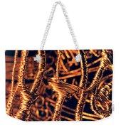 Copper Wirework Weekender Tote Bag