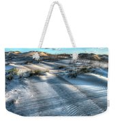 Coquina Beach, Cape Hatteras, North Carolina Weekender Tote Bag