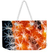 Coral, Close-up Weekender Tote Bag