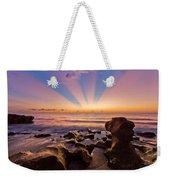 Coral Cove Weekender Tote Bag by Debra and Dave Vanderlaan