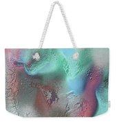 Coral, Turquoise, Teal Weekender Tote Bag by Julia Fine Art