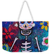 Corazon Day Of The Dead Weekender Tote Bag