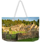 Cotswolds Evening Weekender Tote Bag