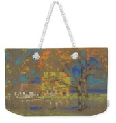 Cottage Amongst The Trees Weekender Tote Bag
