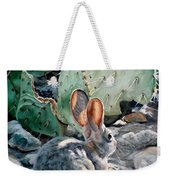 Cottontail Sunrise Weekender Tote Bag