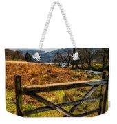Countryside Gate Weekender Tote Bag