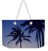 Couple And Sunset Palms Weekender Tote Bag