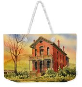 Courthouse Bannack Ghost Town Montana Weekender Tote Bag