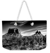 Courthouse Butte And Bell Rock Sedona Arizona Weekender Tote Bag