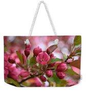 Crab Apple Blossom Weekender Tote Bag