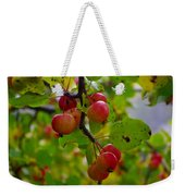 Crab Apples Weekender Tote Bag