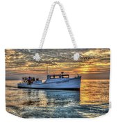 Crabbing Boat Donna Danielle - Smith Island, Maryland Weekender Tote Bag