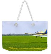 Crop Dusting Weekender Tote Bag