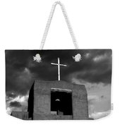 Cross And Bell Weekender Tote Bag