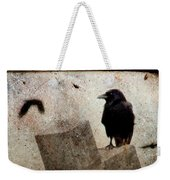 Cross With Crow Weekender Tote Bag
