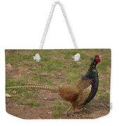 Crowing Weekender Tote Bag