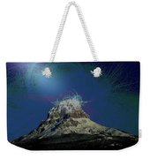 Crowsnest Mountain  Weekender Tote Bag