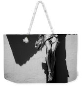 Crucifixion Weekender Tote Bag by Dave Bowman