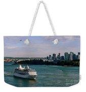Cruise Ship 5 Weekender Tote Bag