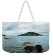 Cunski Beach And Coastline, Losinj Island, Croatia Weekender Tote Bag