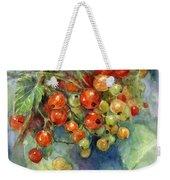 Currants Berries Painting Weekender Tote Bag by Svetlana Novikova
