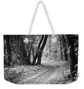 Curving Trail Entering Deciduous Forest Weekender Tote Bag