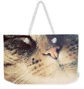 Cute Small Cat Portrait Weekender Tote Bag