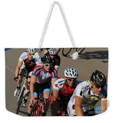 Cycle Racing Weekender Tote Bag