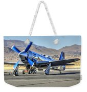 Czech Mate Engine Start Sunday Afternoon Gold Unlimited Reno Air Races Weekender Tote Bag