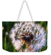 Dandelion In Nature Weekender Tote Bag