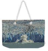 Dawes Glacier Calving #1 Weekender Tote Bag