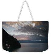 Dawn At Casa De Mundo Lake Atitlan 1 Weekender Tote Bag
