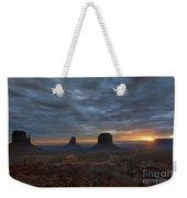 Dawn At Monument Valley Weekender Tote Bag
