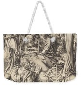 Death Of The Virgin Weekender Tote Bag