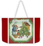 Decorating The Tree Weekender Tote Bag