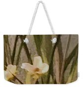 Decorative Mixed Media Floral A3117 Weekender Tote Bag